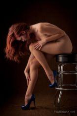 Pretty Polly 10 Den Italia gloss pantyhose nude model
