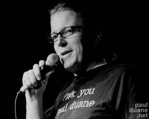 Salt Lake City stand up comic Paul Duane