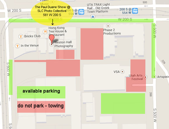 collective parking map