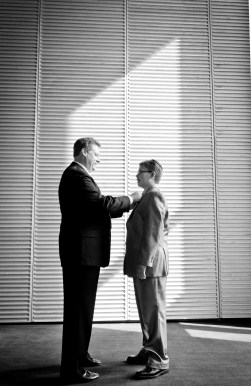 black and white father and son bar mitzvah