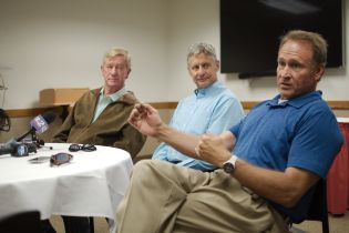 Libertarians Bill Weld, Gary Johnson, Mark Madsen