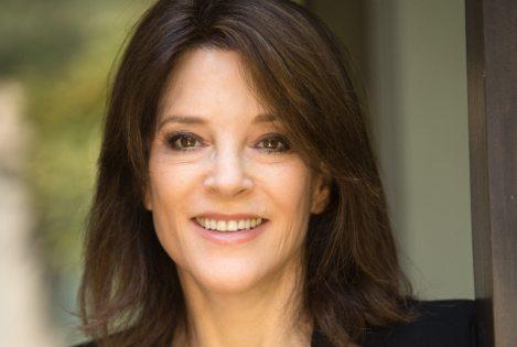 Author & speaker Marianne Williamson