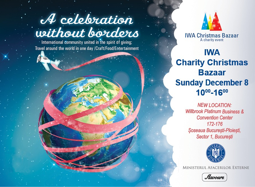 2019 IWA Charity Bazaar Facebook poster