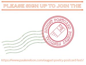august poetry postcard fest