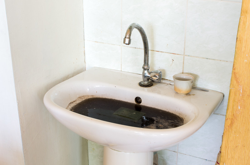 Is Your Sink Clogged - Bathroom sink drain clogged in wall