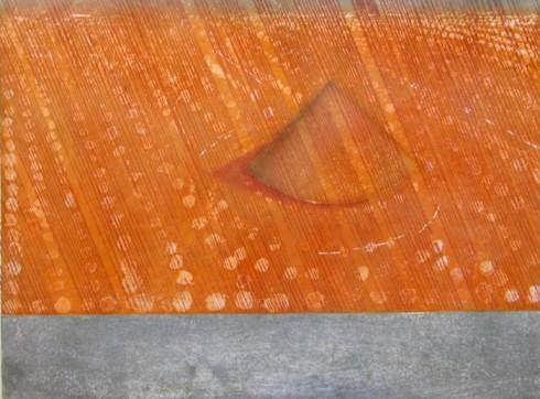 Sand Garden Red Rain - larger version