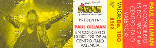 Pase Paul Gillman (1990)
