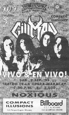 Gillman Vivo & En Vivo (1995)