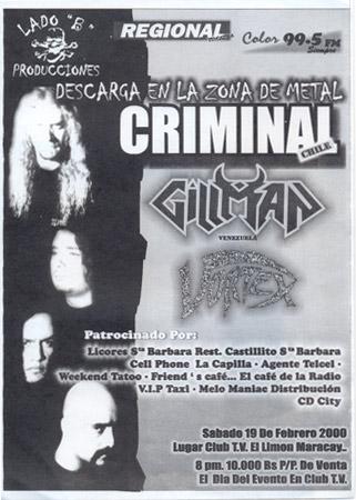 Gillman Abre Criminal (2000)
