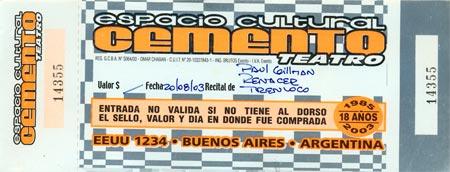 Cemento - Argentina