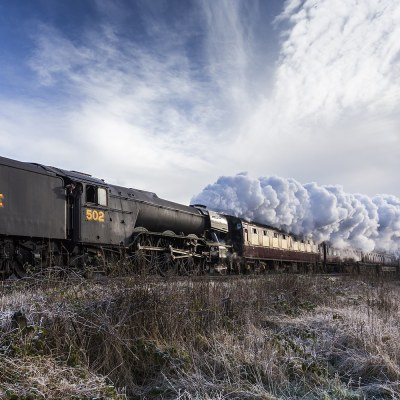 Flying Scotsman Pulling Carriages | Colour Landscape Photograph Landscapes Photography Colour Photo