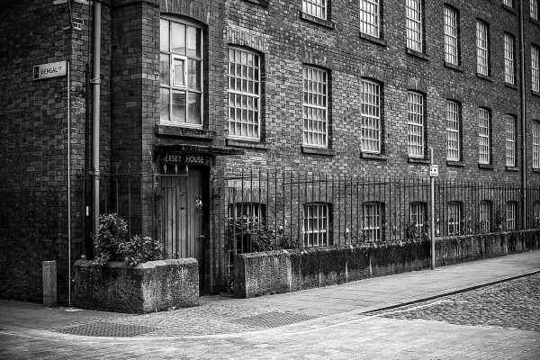 Jersey House, Manchester Black and White photograph Manchester Landscapes Architecture