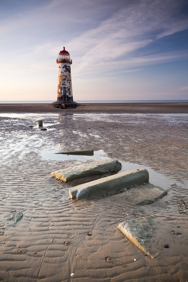 Point of Ayr Lighthouse, Talacre, North Wales landscape Coastal Landscapes Clouds