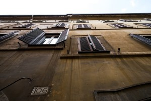 Rome Shutters Street Photography Rome Architecture