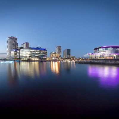 Home of the BBC, Media City Salford a fine art photo Manchester Landscapes Architecture