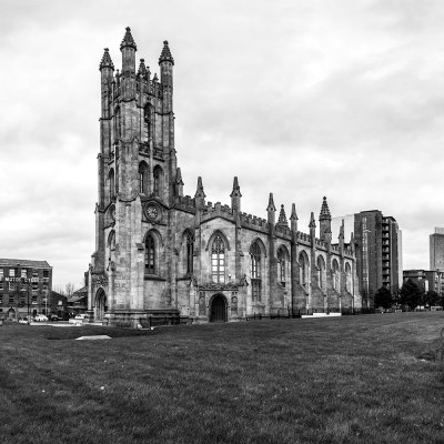 St George's Church, Manchester. Black & White Photography Manchester Landscapes Architecture