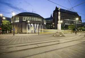 Central Library, St. Peter's Square, Manchester Colour Landscape Manchester Landscapes Architecture