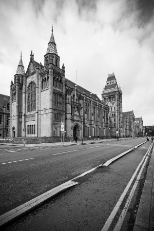 University of Manchester, Black & White Photographic Print Manchester Landscapes Arches
