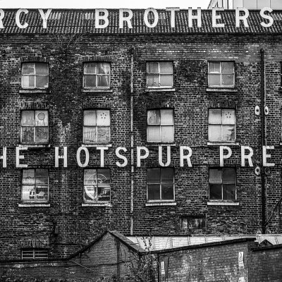 Percy Brothers Factory, The Hotspur Press Manchester Landscapes Architecture
