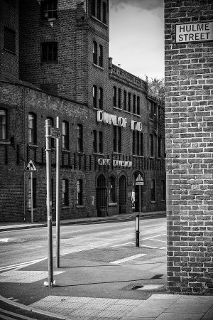 View from Hulme Street, Manchester landscape photograph Manchester Landscapes Architecture
