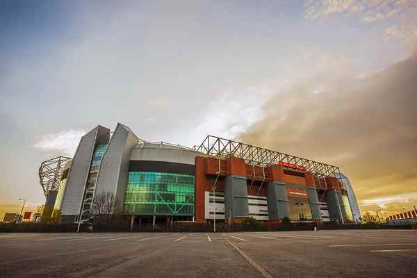Home of Manchester United, Old Trafford Landscape Photo Manchester Landscapes Architecture