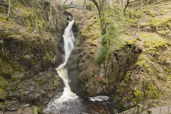 Aira Force Waterfall, Ullswater Photographic Print Lake District Landscapes Aira Force