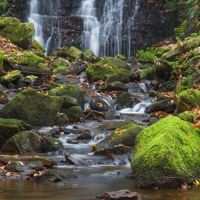 Tigers Clough Waterfall, Rivington Landscapes Photography Autumn