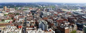 Northern Quarter & Ancoats Panoramic Skyline Canvas Panoramic Landscapes Ancoats