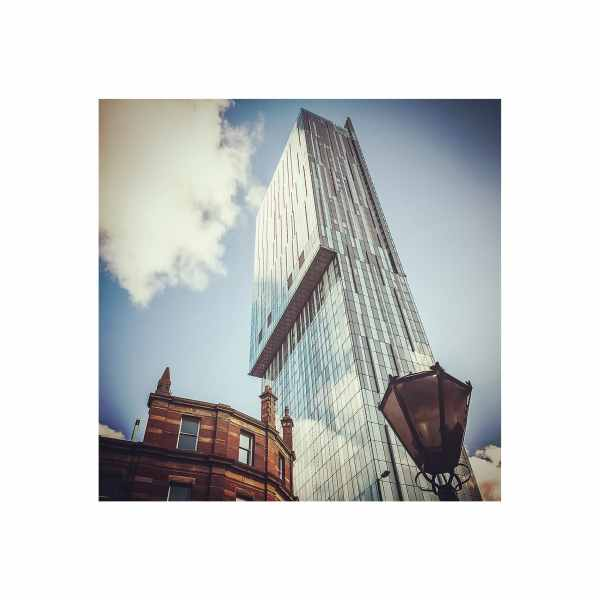 Beetham Tower Colour Print | Micro Manchester Series Micro Manchester Beetham Tower 3