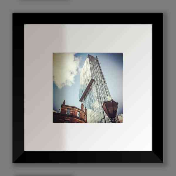 Beetham Tower Colour Print | Micro Manchester Series Micro Manchester Beetham Tower 2