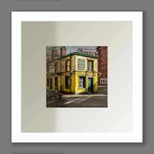 Colour Photo of Peveril of the Peak Public House | Micro Manchester Series Micro Manchester colour