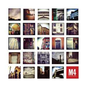 M4 Manchester – Limited Edition Print of Manchester Manchester Landscapes gifts