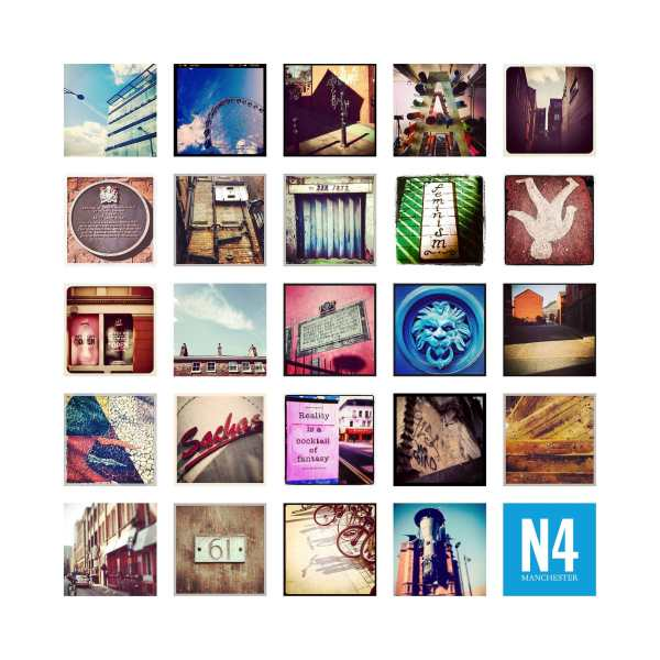 N4 Manchester – Limited Edition Print of the Northern Quarter Manchester Landscapes gifts