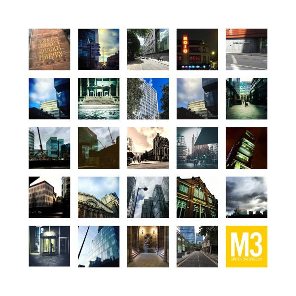 M3 Spinningfields Manchester – Limited Edition Print of Manchester Manchester Landscapes gifts