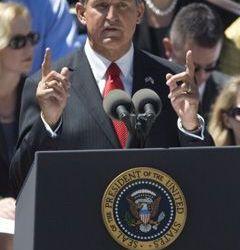 Senator Byrd Remembered – Governor Joe Manchin – Full Text of Speech