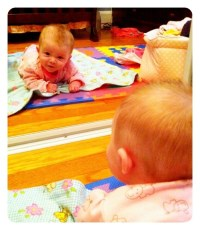 Two Lily's are Better than One! (Lily in the Mirror)