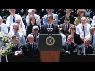 President Obama sharing at Senator Byrd's Memorial Service - Full Video (11min)
