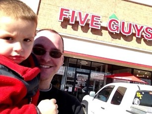 Two Guys at Five Guys