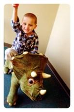 Smileosaurus - What is he thinking?