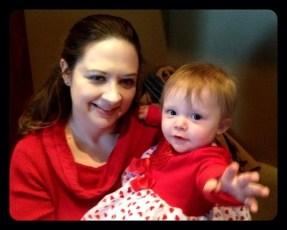 Kristen's little Valentine!