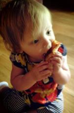 Lily vs Pizza Crust