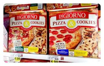 Really?? Pizza and Cookies? No wonder America is getting bigger!