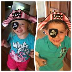 My two little pirates!