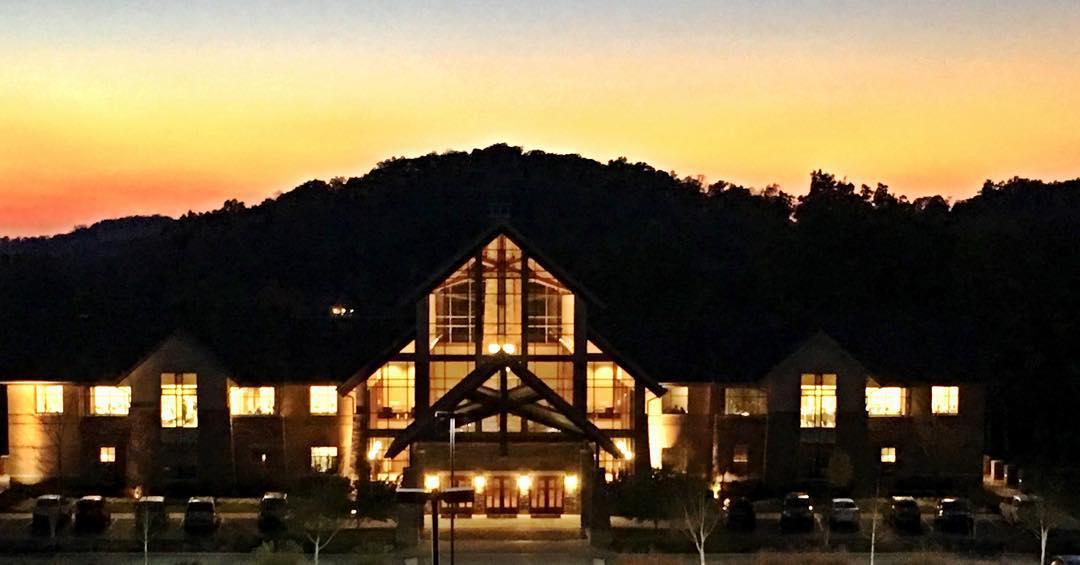 Bible center church last night