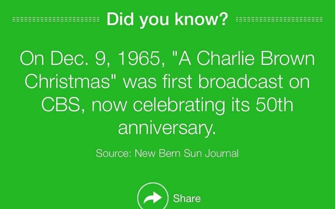 Charlie Brown Christmas :)