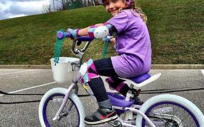 Purple pedal power!