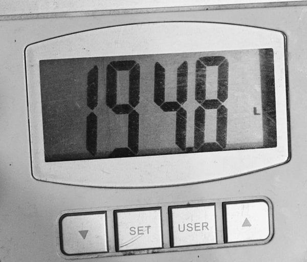 2017 Weight