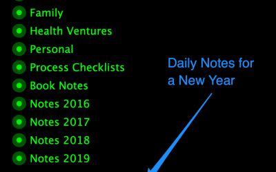 New Year Notes