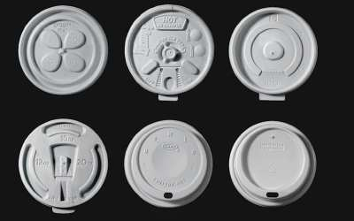 The evolution of the coffee cup lid over time