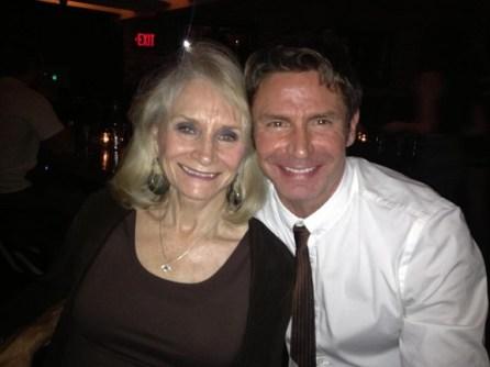 With mom Patsy.